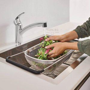 GROHE Кухненски смесител с издърпващ се чучур