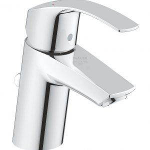 GROHE Смесител за мивка с изпразнител S-размер (нисък)