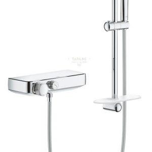 GROHE Комплект термостатен смесител за душ + гарнитура