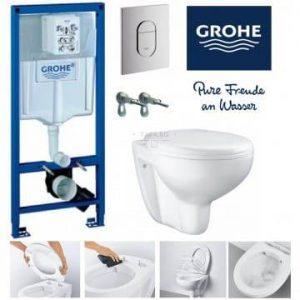 GROHE Пълен комплект тоалетна за вграждане