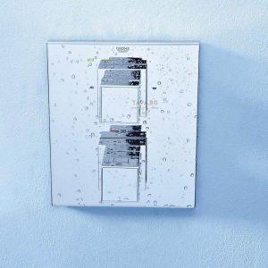 GROHE Термостатен смесител за вана с 2 изхода и вграден превключвател