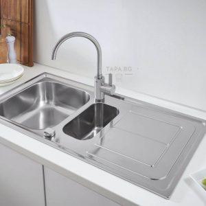 GROHE Кухненска мивка с две корита