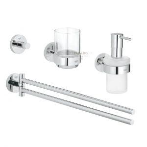 GROHE Комплект аксесоари за баня 4 в 1