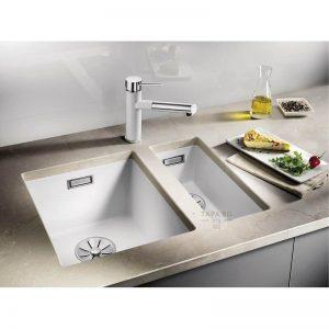 BLANCO Кухненска мивка за вграждане Subline 160-U
